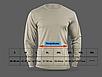Футболка мужская тактическая камуфляжная  ночной пиксель Sleeve Digital Camo длинный рукав   Rоtcho США, фото 5