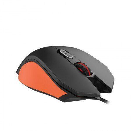 Мышка Havit HV-MS762 Черный / Оранжевый