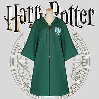 Мантия для квиддича Слизерин с эмблемой Гарри Поттер Harry Potter Slytherin HP 6.110