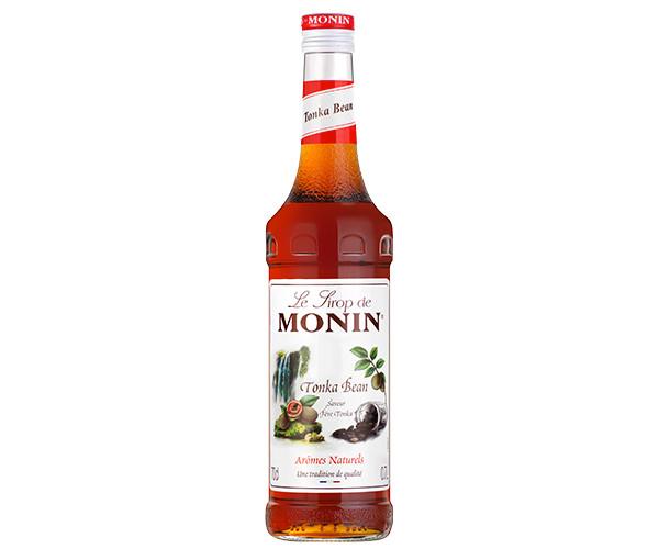 Сироп Monin Бобы Тонка (африканская ваниль, сочетание ванили, какао, кофе и горького миндаля) 0,7 л
