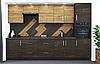 Кухня Оптима Венге аруша + Дуб сонома Эверест, фото 3