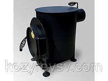 """Буржуйка """"Canada""""-Печь отопительно-варочная (произ-ва Украина),новая,крашенная в чёрный цвет, продам п"""