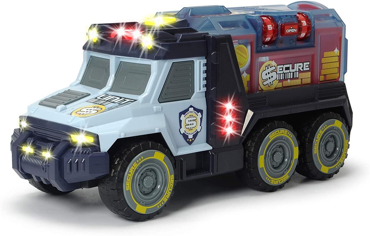 Автомобиль Инкассатор с кодовым замком, со звуковыми и световыми эффектами Dickie Toys 3756005