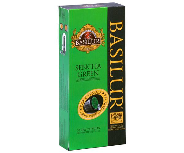 Чай в капсулах Nespresso Basilur Sencha Green 10 шт