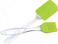 Набор кисточка +лопатка силиконовые, Кисточки и Лопатки