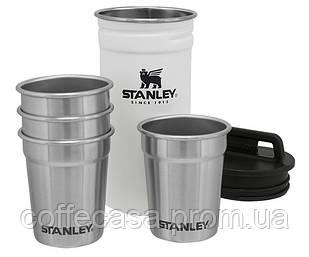 Набор Stanley Adventure Combo Polar: фляга + 4 рюмки (10-01705-037)
