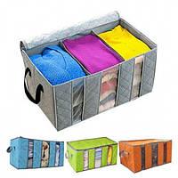 Органайзер для одежды бамбук, Органайзеры для вещей и обуви, фото 1