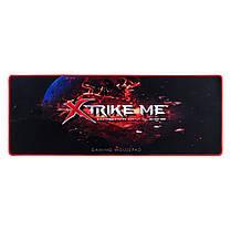 Коврик геймерский, игровой для мышки XTRIKE ME Waterproof MP-204, игровая поверхность (770х295х3мм.), фото 3