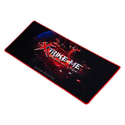 Коврик геймерский, игровой для мышки XTRIKE ME Waterproof MP-204, игровая поверхность (770х295х3мм.), фото 2
