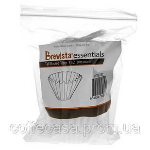 Фильтр Brewista Tall Basket Filters 752 - 100 шт (BETBF752)