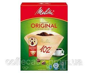 Фильтр-пакет для кофе Melitta Aroma Zones 102 бумажный бежевый 80 шт