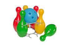 Игрушка набор для игры в боулинг 2 технок