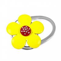 Сумкодержатель желтый цветок, Вешалки для сумок