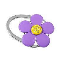 Сумкодержатель фиолетовый цветок, Вешалки для сумок, фото 1