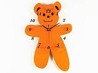Настенные Часы Мишка Orange, Настенные часы