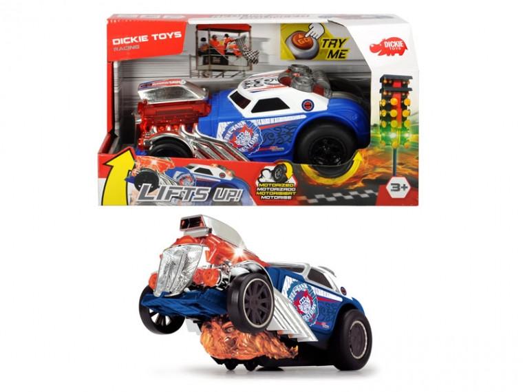 Скоростной автомобиль Прыжок из пламя с функцией езды на задних колесах Dickie Toys 3764007