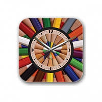 Декоративные настенные часы Pencils, Настенные часы, фото 1