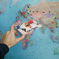 Открытка Карта, Открытки и конвертики