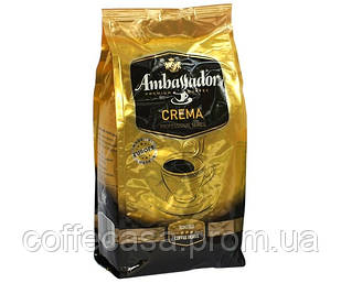 Кофе Ambassador Crema в зернах 1 кг