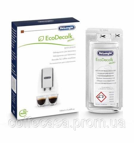 Жидкость для очистки накипи кофемашин DeLonghi EcoDecalk Mono 100 мл