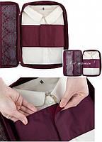 Органайзер для рубашек и блузок бордовый, Органайзеры для вещей и обуви