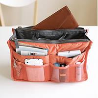 Органайзер Bag in bag maxi коралловый, Органайзеры в сумку, фото 1