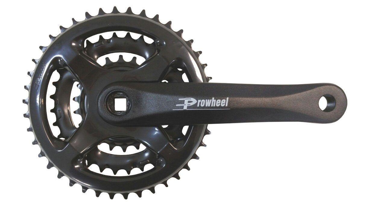 Шатуни Prowheel MC-A502 42-32-22T / 170mm black