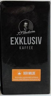 Кофе J.J.Darboven Exklusiv kaffee der Milde молотый 250 г