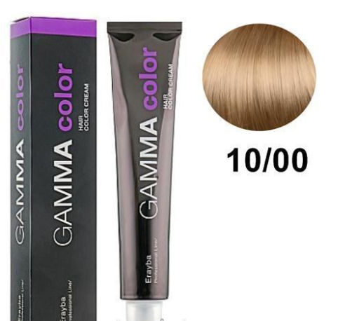 Стойкая крем-краска для волос 10/00 Erayba Gamma Color Haircolor Creaml 100 мл