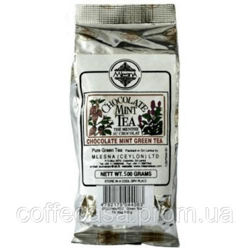 Зеленый чай Мятно-шоколадный Млесна пак. из фольги 500 г