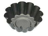 KC NS Формы для выпечки мини Корзинки рифленые с антипригарным покрытием 6см 4 единицы, Формы для выпекания