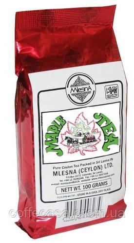 Черный чай Кленовый сироп Млесна пак. из фольги 100 г