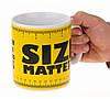 Чашка гигант Size matters, Оригинальные чашки и кружки
