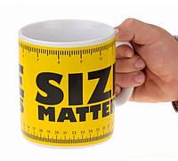 Чашка гигант Size matters, Оригинальные чашки и кружки, фото 1