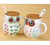 Чашка Сова 400 мл, Оригинальные чашки и кружки