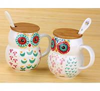 Чашка Сова 400 мл, Оригинальные чашки и кружки, фото 1