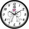 Настенные Часы Сlassic Жирафчик Котята Black, Настенные часы