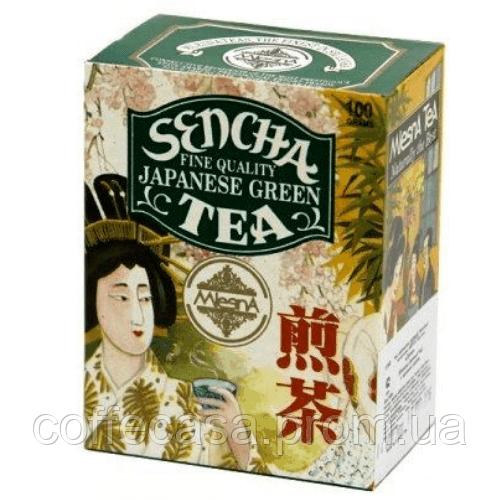 Зеленый чай Сенча японский Млесна картон 100 г