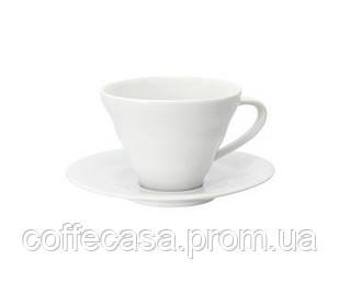Чашка с блюдцем Hario V60 ARITA белый 150 мл (CCS-1W)