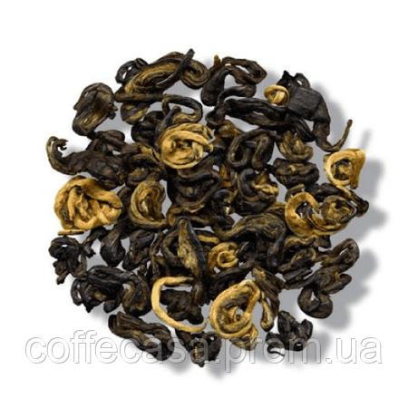 Красный чай Золотая спираль Бриллиантовый Дракон пак. из фольги 100 г