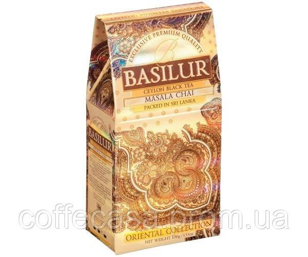 Черный чай Basilur Масала картон 100 г