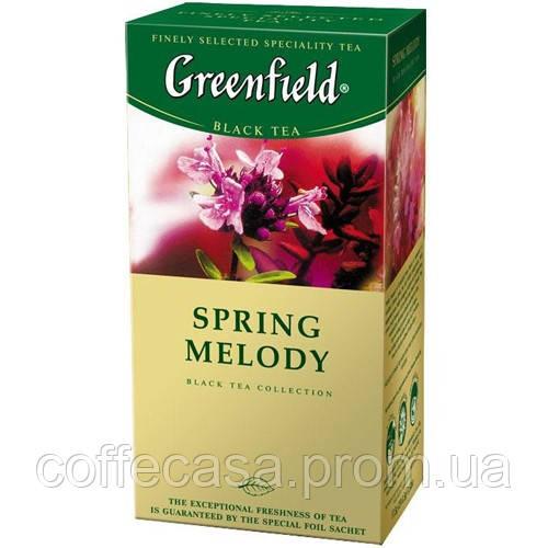 Черный чай Greenfield Spring Melody - Чабрец в пакетиках 25 шт