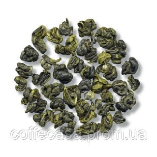 Зеленый чай Зеленые завитки Бриллиантовый Дракон пак. из фольги 100 г