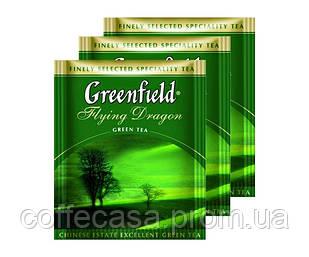 Зеленый чай Greenfield Flying Dragon - Дракон в пакетиках 100 шт