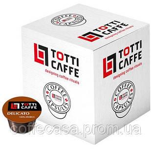 Кофе в капсулах TOTTI Caffe Delicato 100х8 г