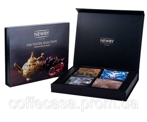 Набор черного и зеленого чая Newby Класика вкуса картон 50 г (899004)