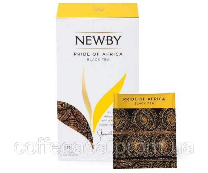 Черный чай Newby Гордость Африки в пакетиках 25 шт (311120)
