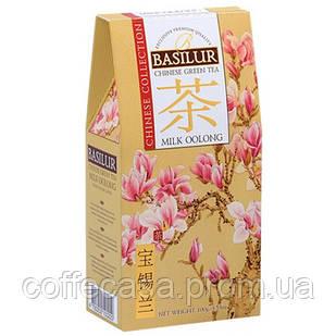 Зеленый чай Basilur Молочный улун картон 100 г