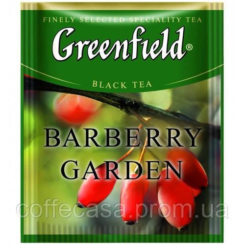 Черный чай Greenfield Barberry Garden - Барбарис в пакетиках 100 шт