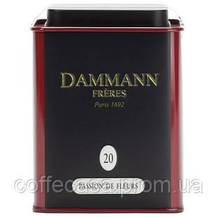 Белый чай Dammann Freres 20 - Цветочная страсть ж/б 60 г